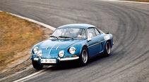 Renault Alpine 1600 S, Seitenansicht