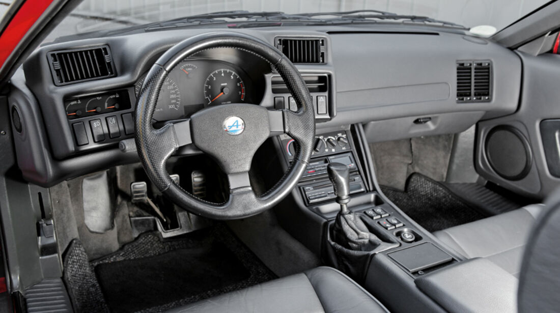 Renault Alpine A 610 Turbo, Cockpit