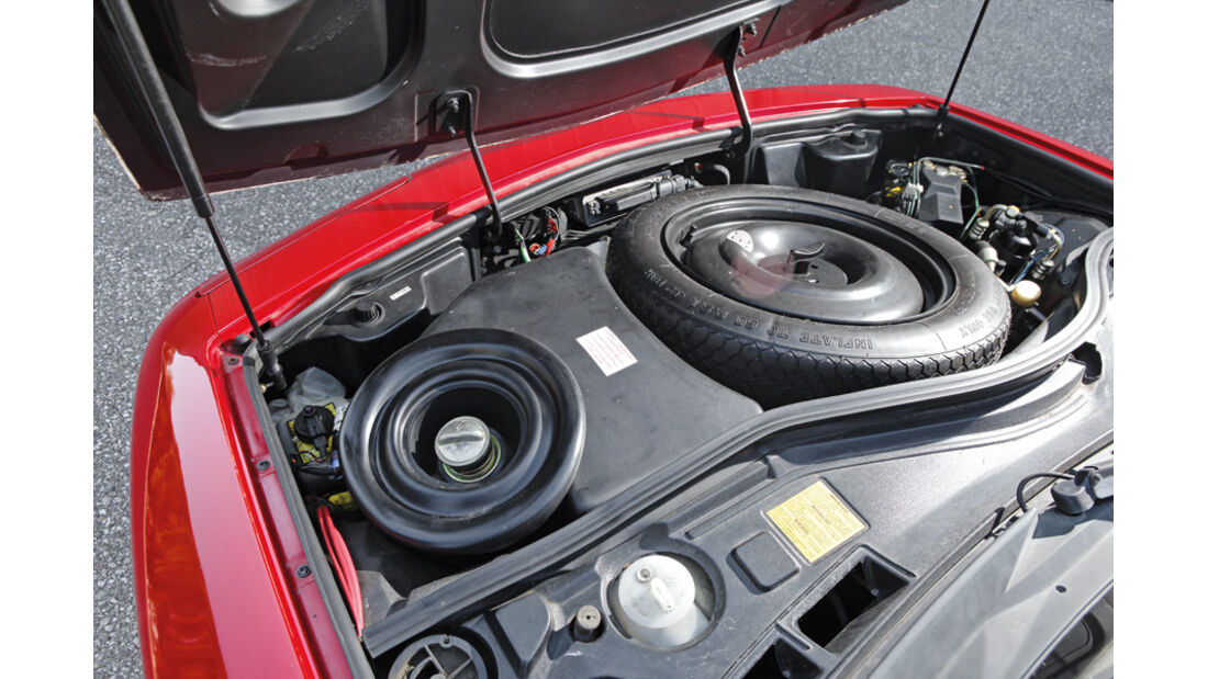Renault Alpine A 610 Turbo, Ersatzrad,