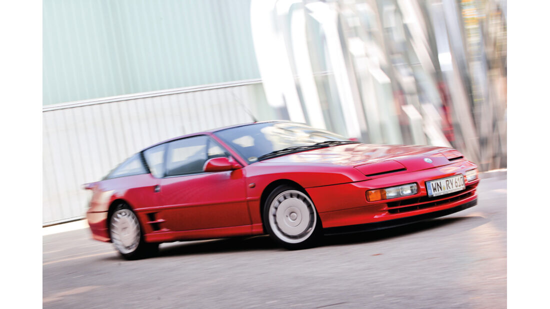 Renault Alpine A 610 Turbo, Seitenansicht