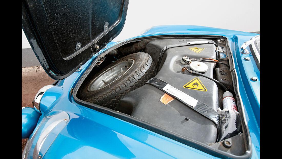 Renault Alpine A110 1300 VC, Ersatzrad