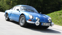 Renault Alpine A110 1300 VC, Frontansicht