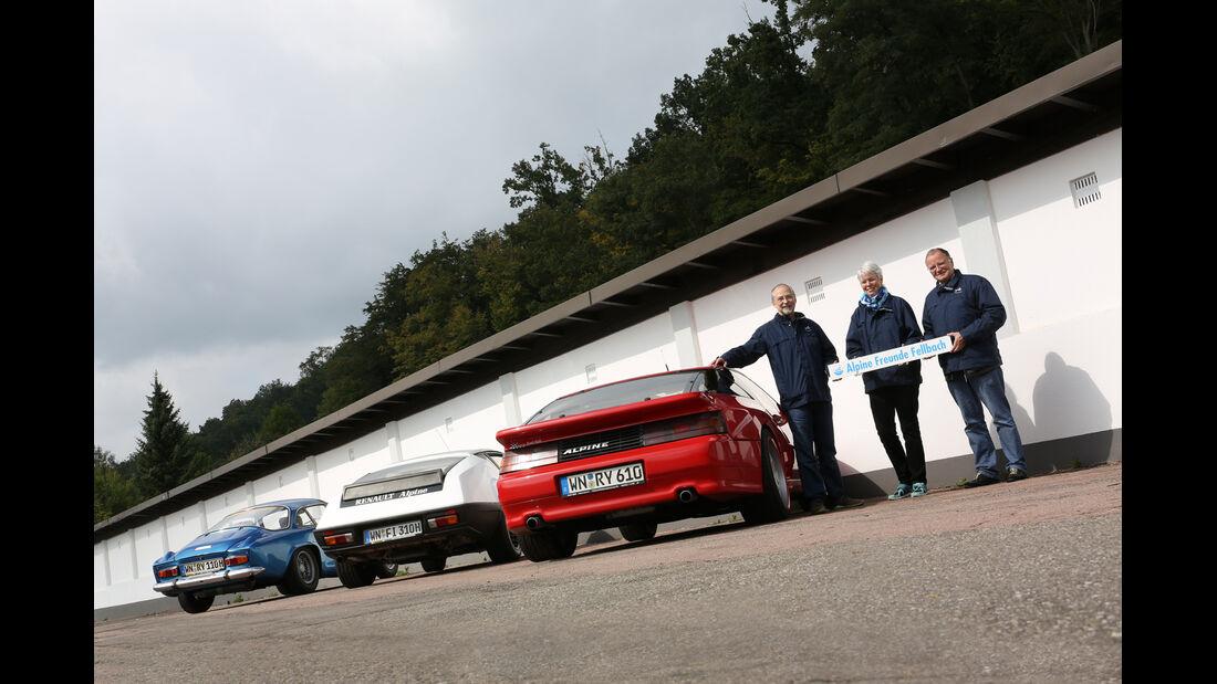 Renault Alpine A110 1300 VC, Renault Alpine A310 V6, Renault Alpine A610 TURBO