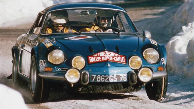 Renault Alpine A110 1973 Rallye Monte Carlo