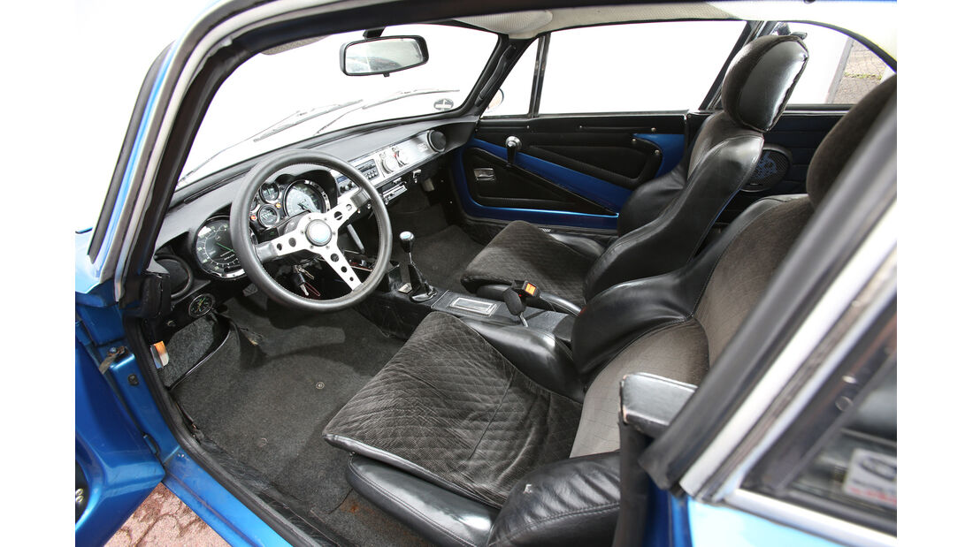 Renault Alpine A110, Cockpit