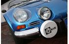 Renault Alpine A110, Frontscheinwerfer