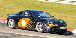 Renault Alpine A110 GT4 Erlkönig
