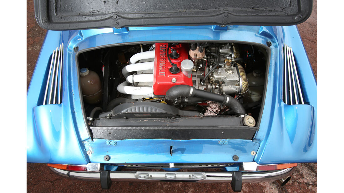 Renault Alpine A110, Motor