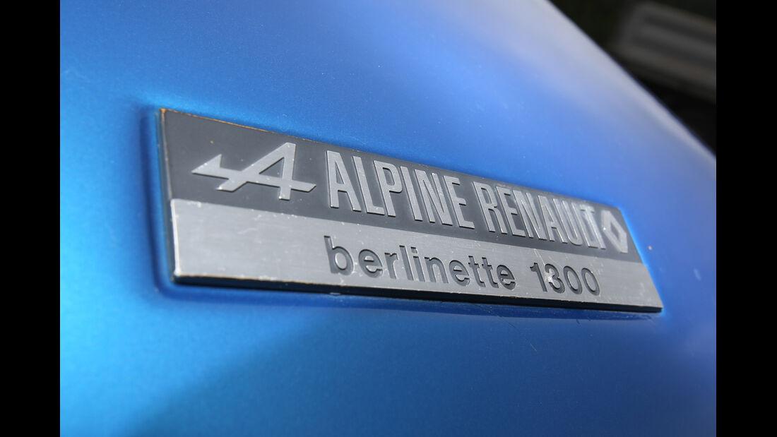Renault Alpine A110, Typenbezeichnung