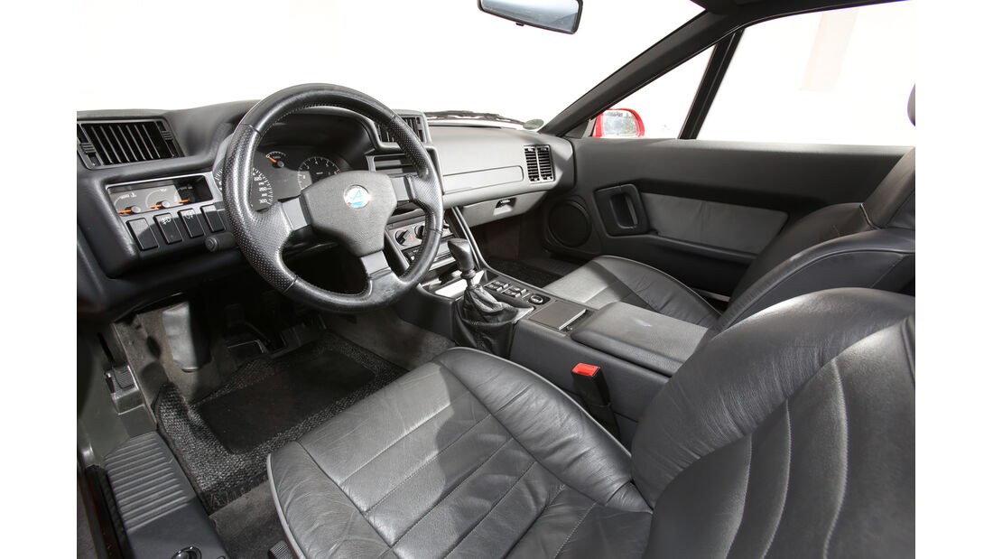 Renault Alpine A610, Cockpit