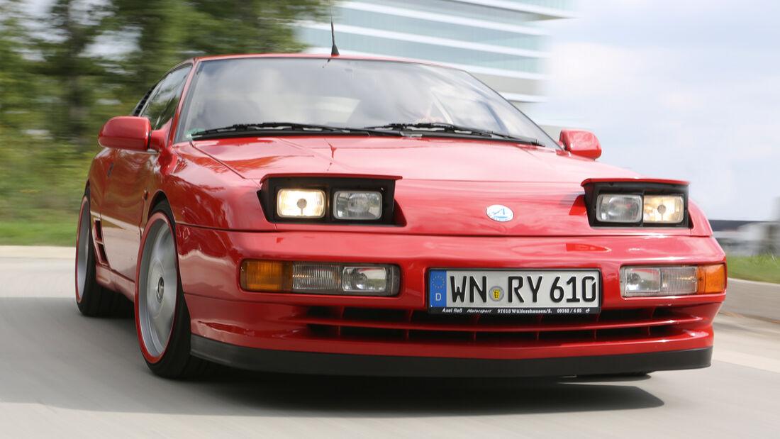 Renault Alpine A610, Frontansicht