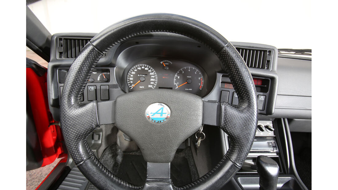 Renault Alpine A610 TURBO, Lenkrad