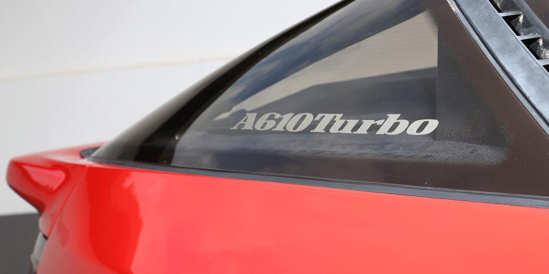 Renault Alpine A610 TURBO, Typenbezeichnung