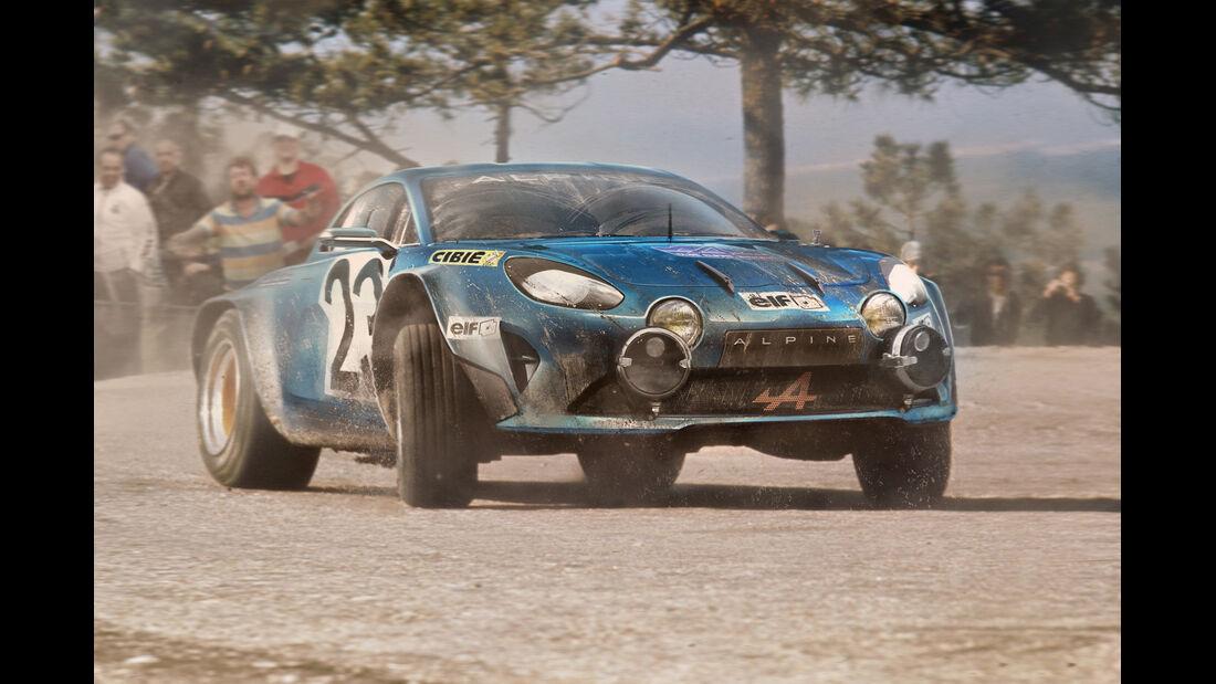 Renault Alpine Concept - Moderne Rallye-Legenden