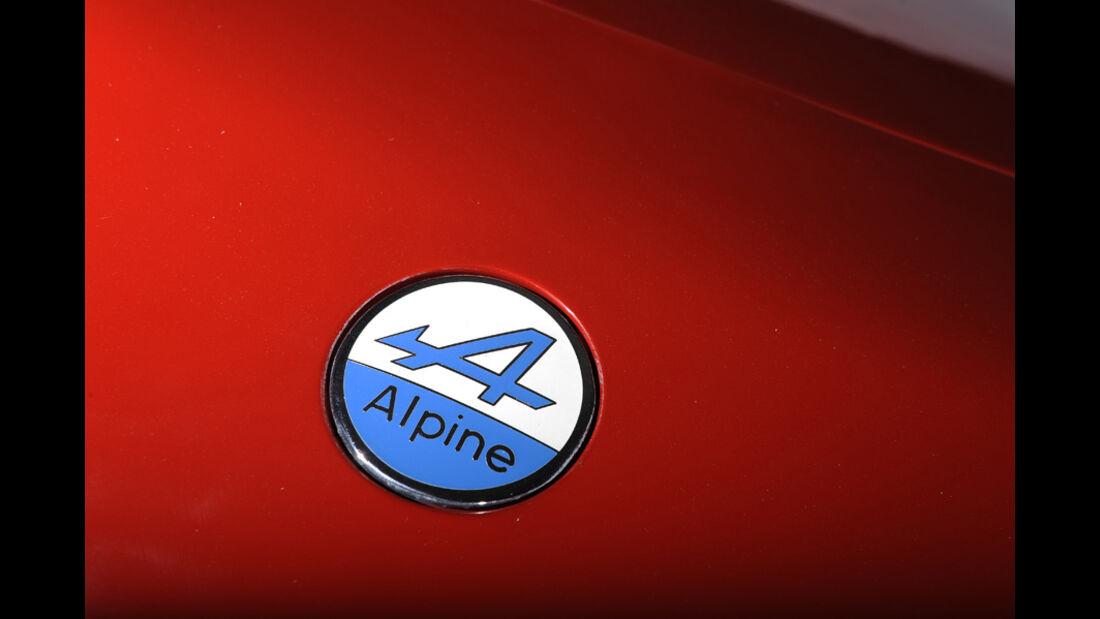 Renault Alpine V6 Turbo (A 502), Baujahr 1990, Emblem