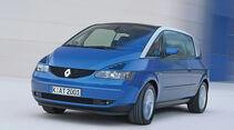 Renault Avantime, Frontansicht