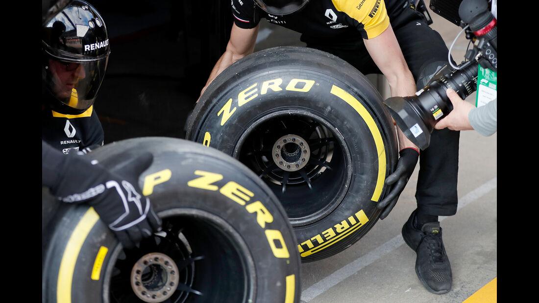 Renault - Barcelona - F1-Test - 19. Februar 2019