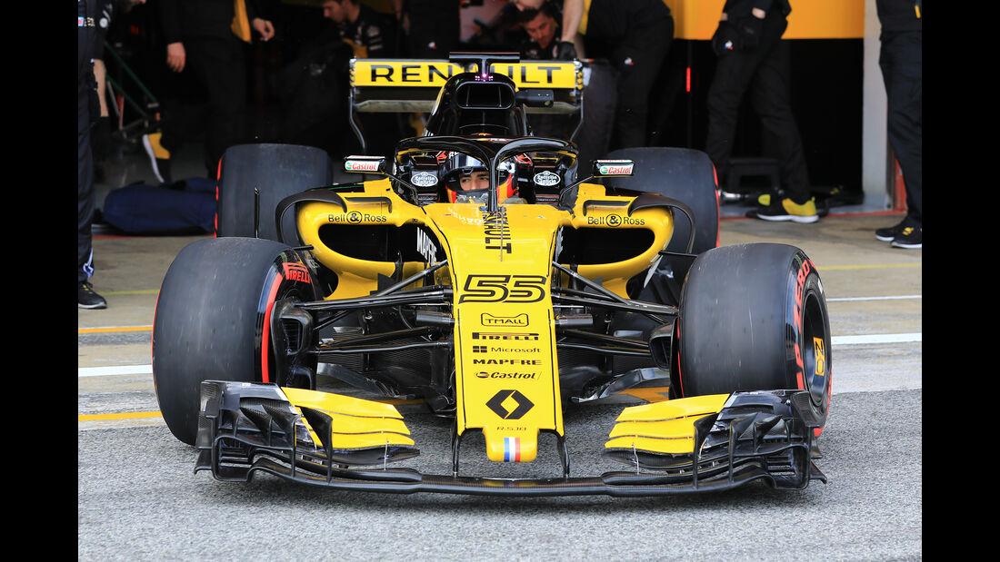 Renault - Barcelona F1-Test 2018