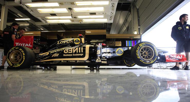 Renault Box GP England 2011