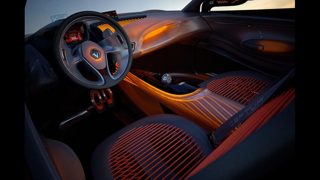Renault Captur, Cockpit, Innenraum