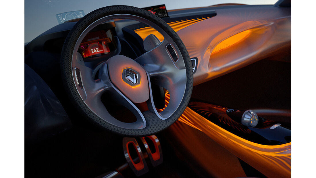 Renault Captur, Cockpit, Innenraum, Lenkrad