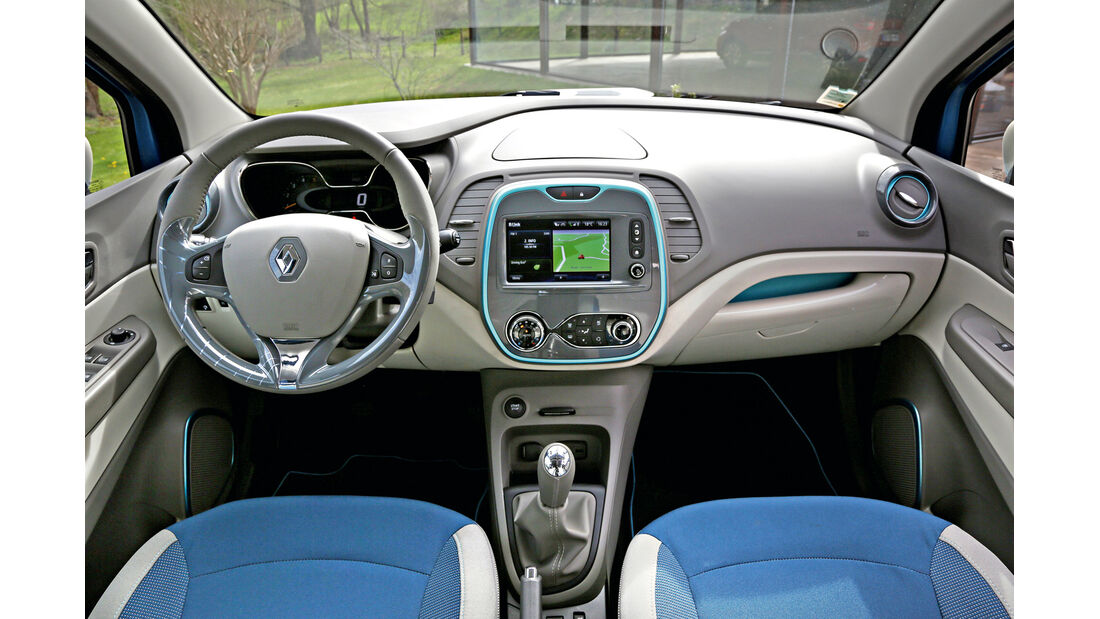 Renault Captur, Cockpit, Lenkrad