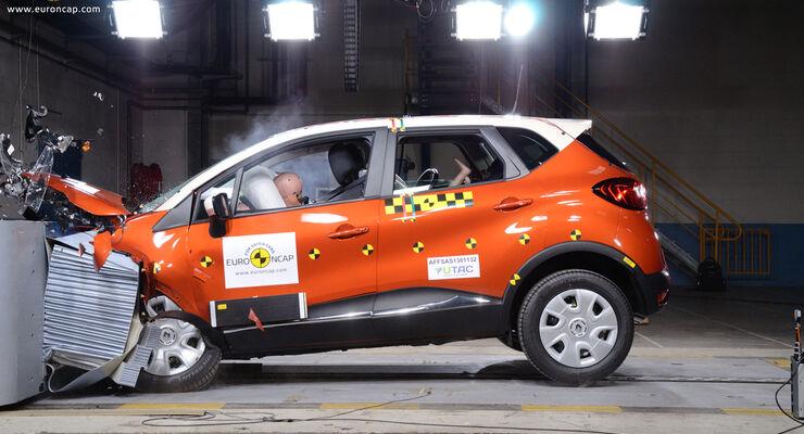 Renault Captur EuroNCAP-Crashtest
