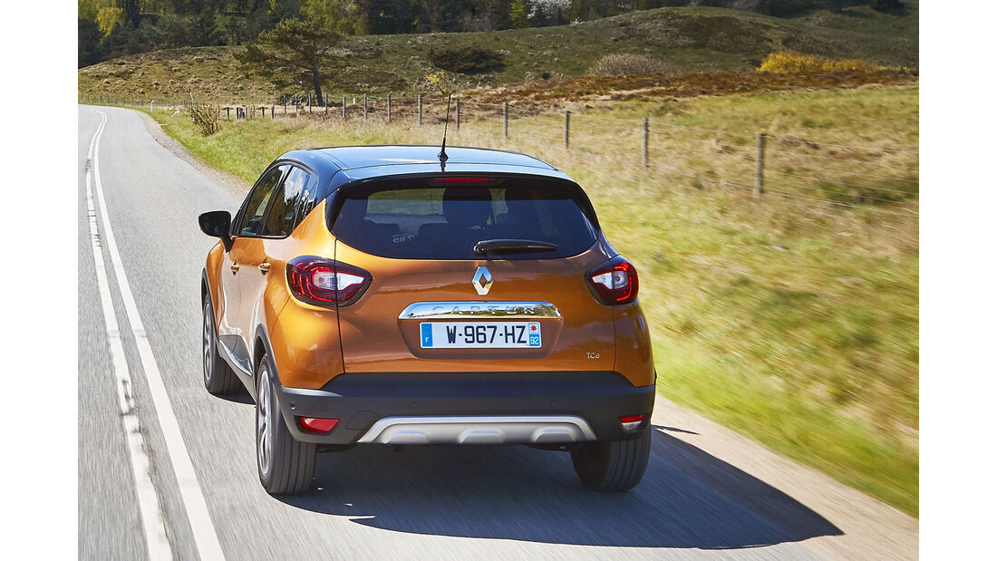 Renault Captur Facelift Fahrbericht