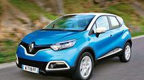 Renault Captur, Frontansicht