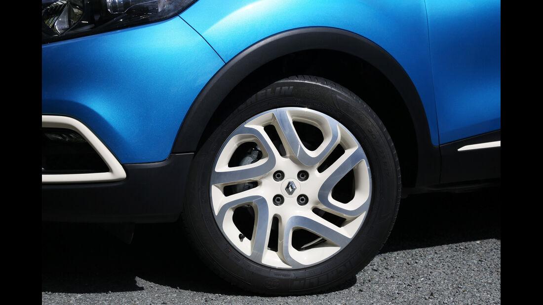 Renault Captur, Rad, Felge