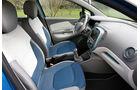Renault Captur, Sitze, Fahrersitz