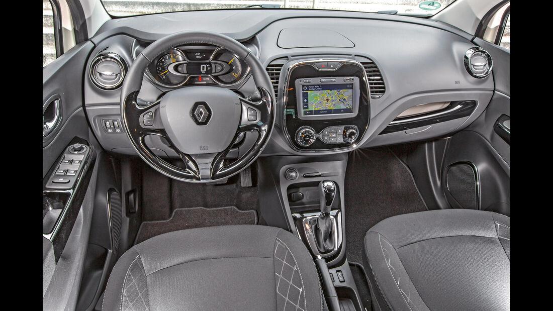 Renault Captur TCe 120, Cockpit