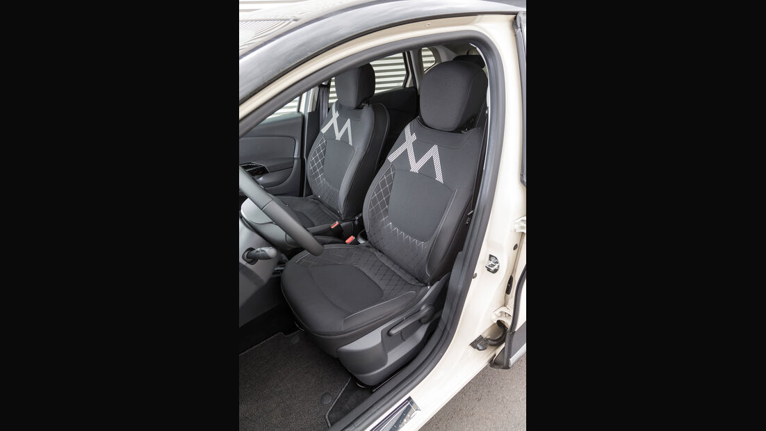 Renault Captur TCe 120, Fahrersitz