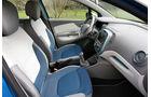 Renault Captur TCe 120, Sitze