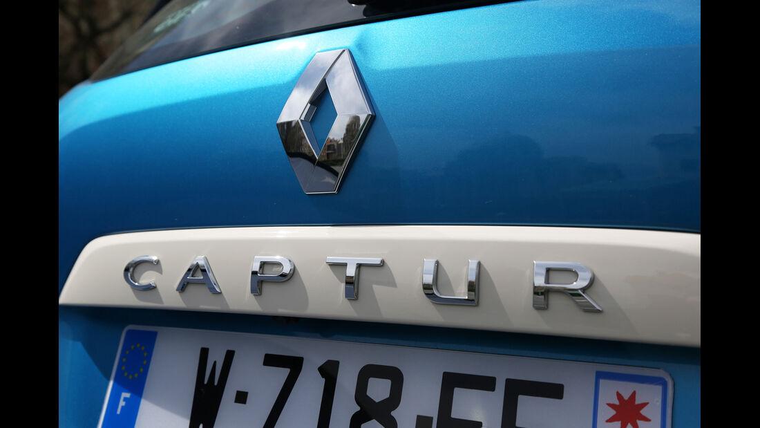 Renault Captur, Typenbezeichnung