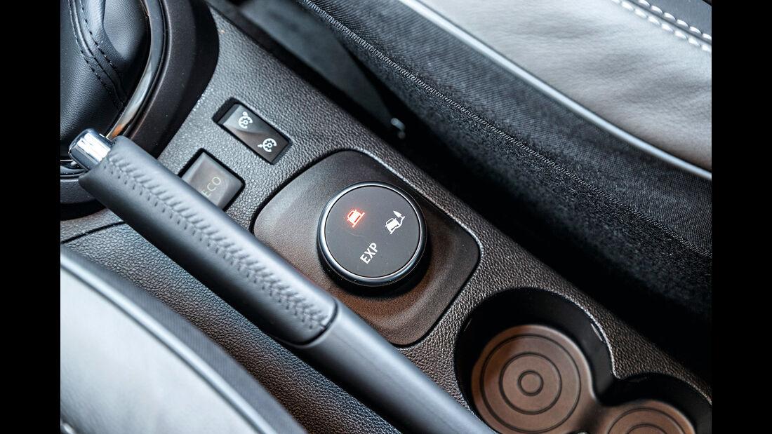 Renault Captur dCi 110, Bedienelemente