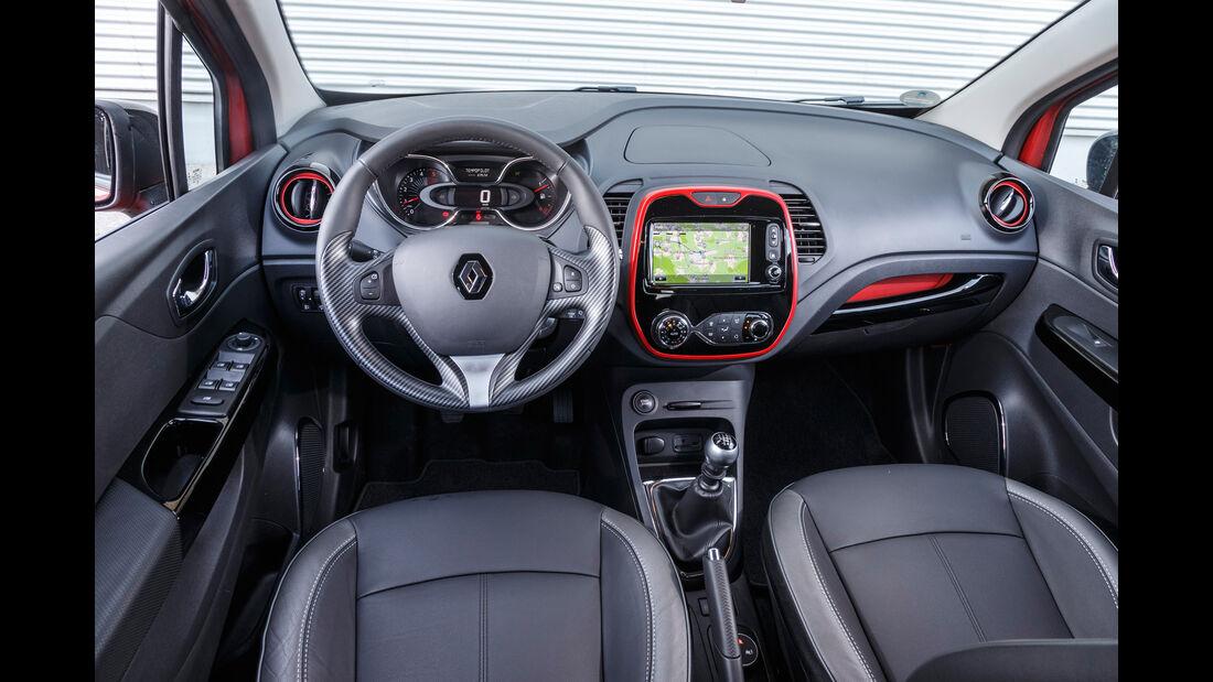 Renault Captur dCi 110, Cockpit