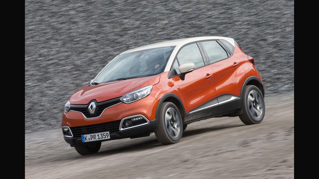 Renault Captur dCi 110, Frontansicht
