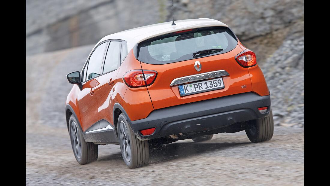 Renault Captur dCi 110, Heckansicht