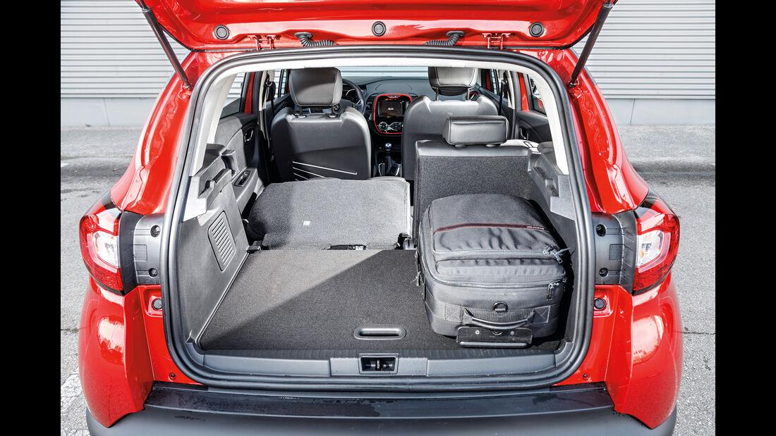 Renault Captur dCi 110, Kofferraum