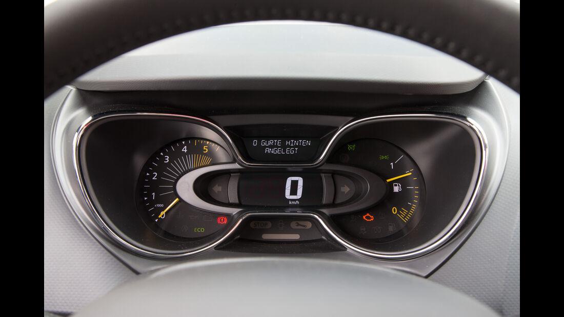Renault Captur dCi 110, Rundinstrumente