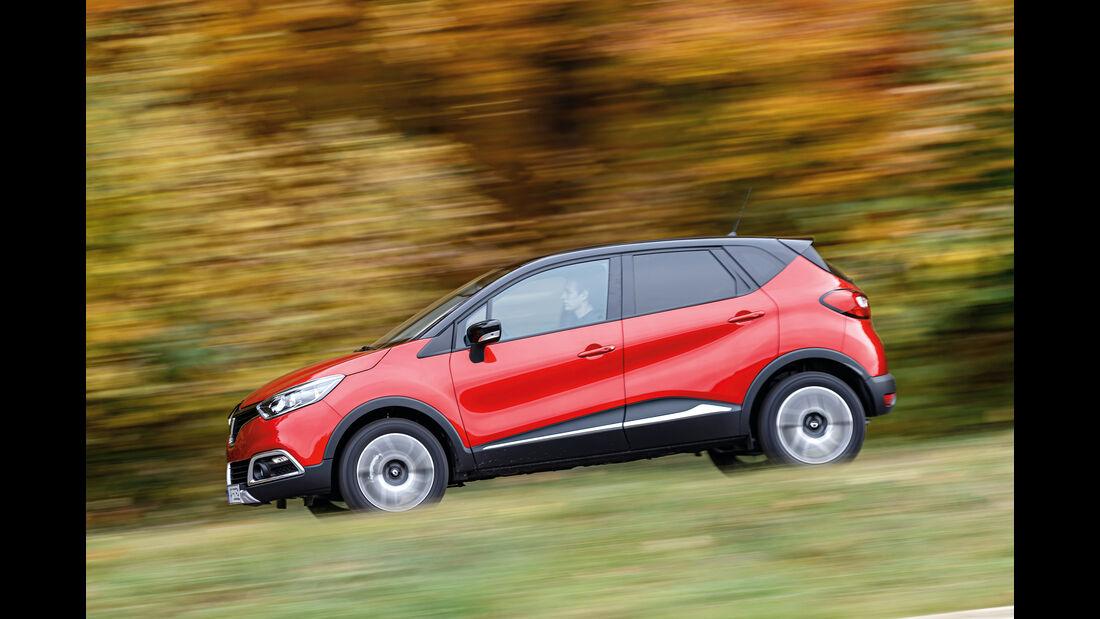 Renault Captur dCi 110, Seitenansicht
