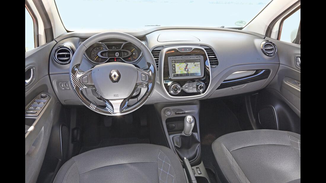 Renault Captur dCi 90, Cockpit