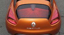 Renault Capture, Dachaufsicht
