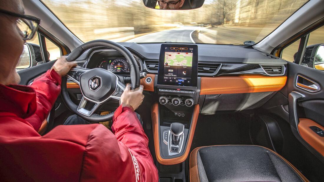 Renault Capture, Interieur