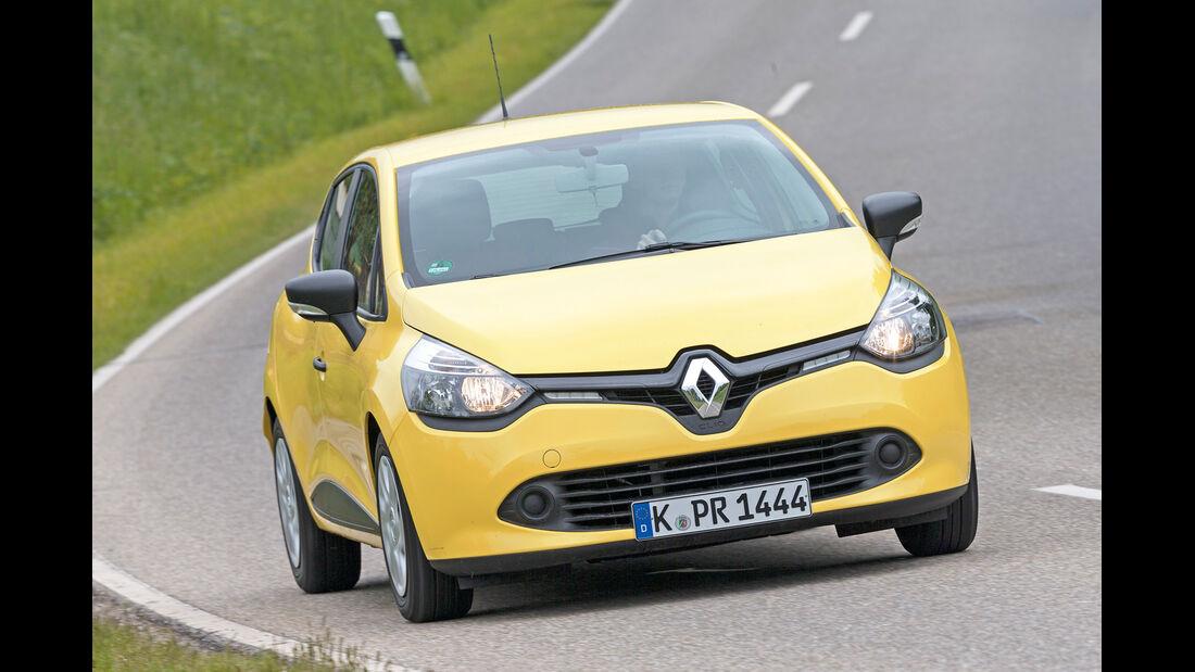 Renault Clio 1.2 16V 75, Frontansicht