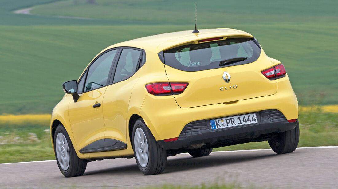 Renault Clio 1.2 16V 75, Heckansicht