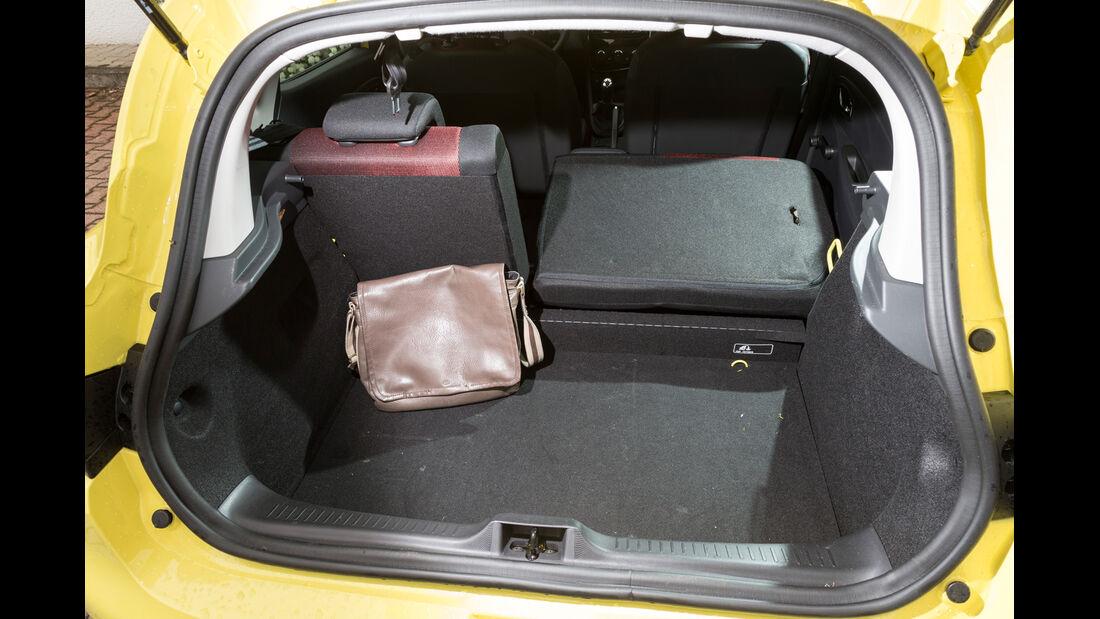 Renault Clio 1.2 16V 75, Ladefläche