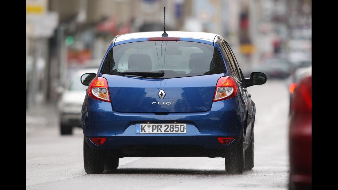 Renault Clio 1.2 16V, Heckansicht