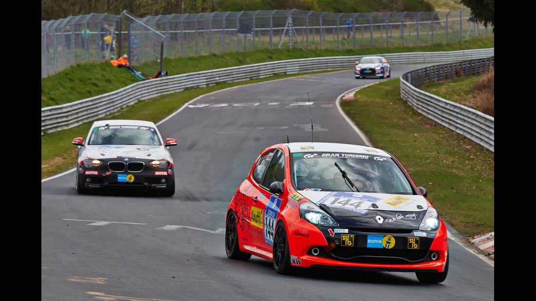 Renault Clio - 24h Qualirennen - Nürburgring Nordschleife - 06. April 2014